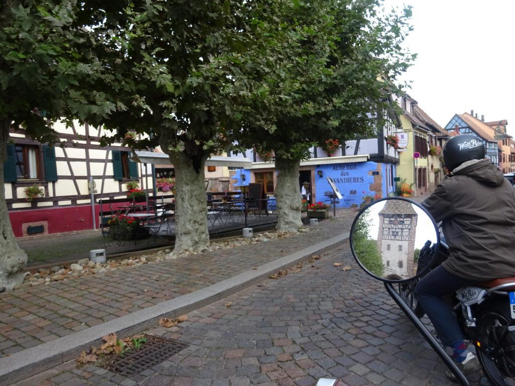 TOURISME ROUTE DES VINS ALSACE BERGHEIM